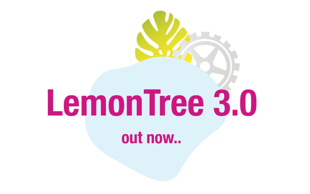 LemonTree 3.0 – New Release