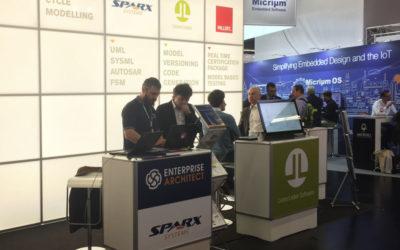 LieberLieber Software + SparxSystems CE: Gemeinsam auf der embedded world 2017